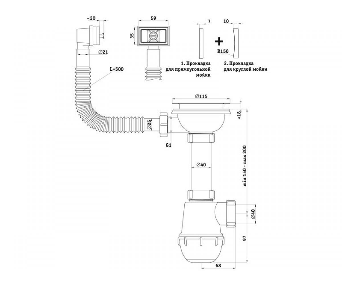 Rf priključak modulatora
